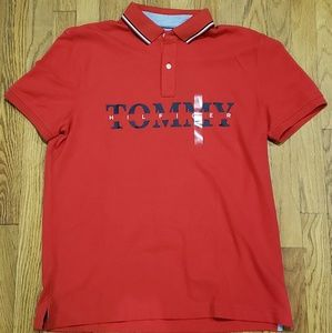NWT Tommy Hilfiger Mens Polo Size Large